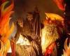 خلقت شیطان از آتش