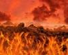 ر قیامت دریاها آتش